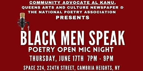 Black Men Speak - Free Poetry Open Mic Night tickets