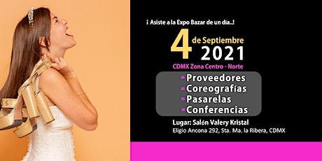 Expo Bazar ViveTus15  CDMX Zona Centro-Norte boletos