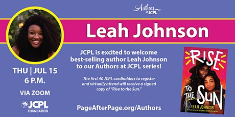 Authors at JCPL Presents: Leah Johnson (with book giveaway) tickets
