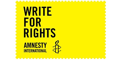 Amnesty International Seattle June 26 2021 Virtual Write for Rights Event tickets