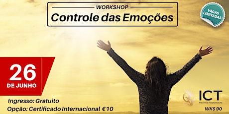 Controle suas Emoções - WKS 90 bilhetes