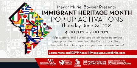 #ImmigrantHeritageMonth Pop Ups tickets