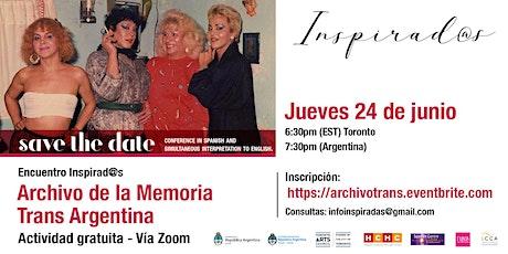 Archivo de la Memoria Trans en Argentina entradas