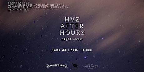 HVZ After Hours: Night Swim tickets