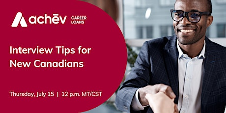 Interview Tips for New Canadians tickets