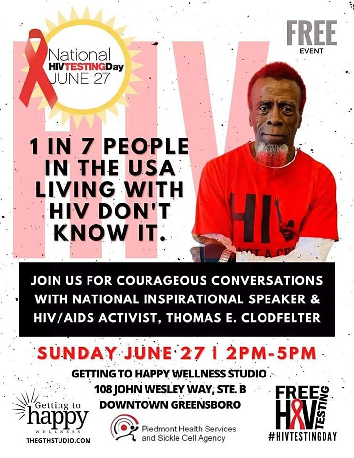 National HIV Testing Day - June 27, 2021 image