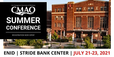 2021 CMAO Summer Conference tickets