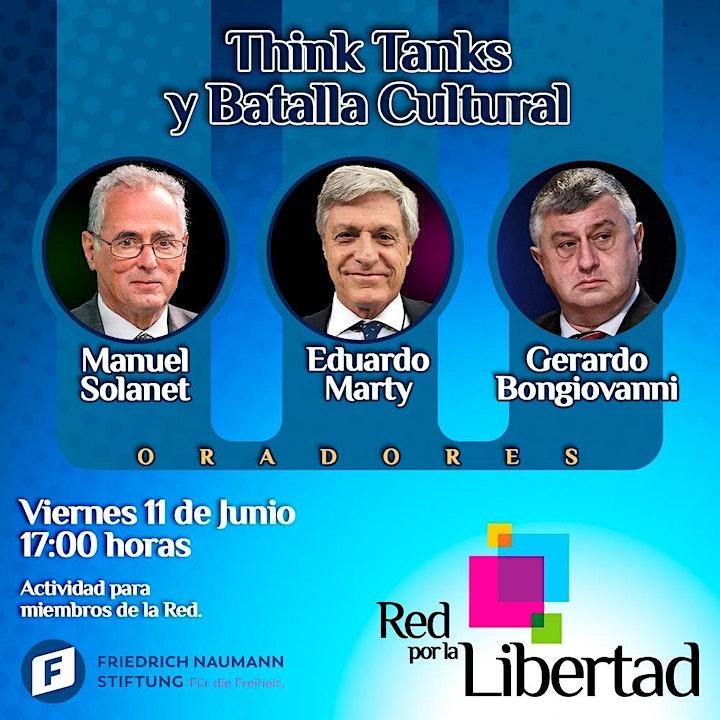 Imagen de RED POR LA LIBERTAD - THINK TANKS Y BATALLA CULTURAL