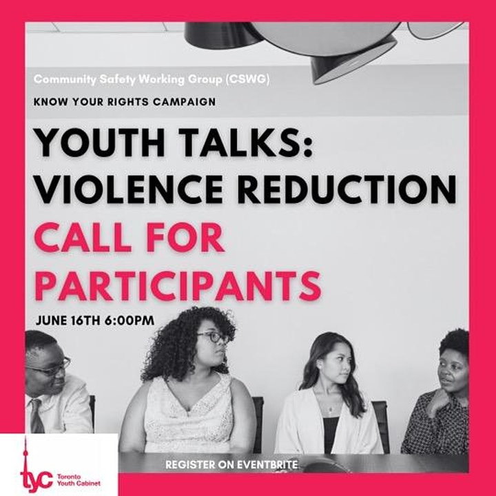 Youth Talks: Violence Reduction image