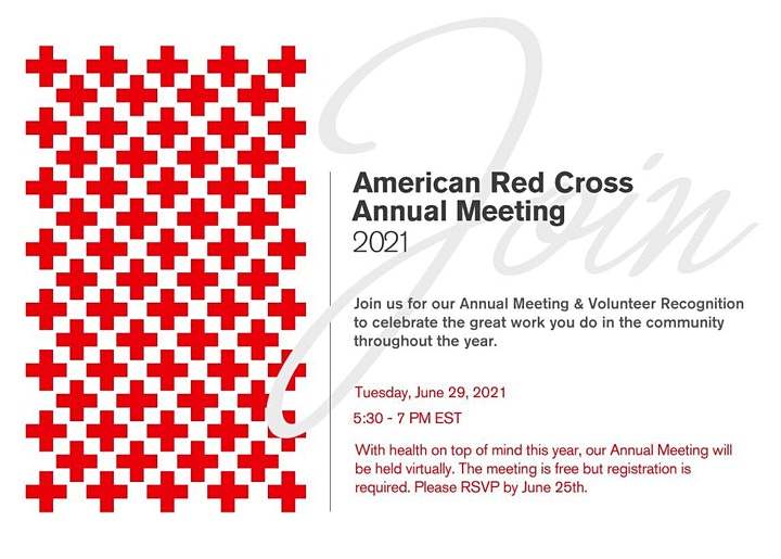 American Red Cross Annual Meeting - North Florida Region image