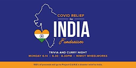 India Fundraiser & Trivia Night tickets