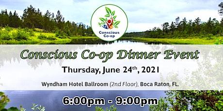 Conscious Co-op  Dinner (June 24, 2021) tickets