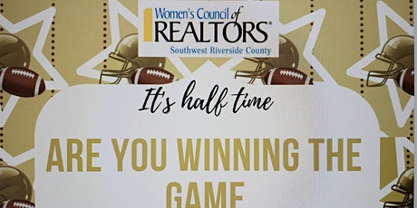 It's half time ~ Are you WINNING the Game tickets