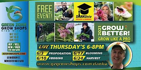 Grow Like a Pro **Harvest/Cure** FREE Workshops! tickets