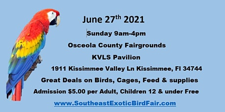 Southeast Exotic Bird Fair Kissimmee Fl tickets