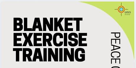 Blanket Exercise Training tickets