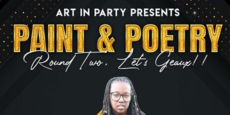 Art in Party's Paint & Poetry tickets