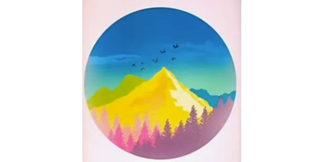 60min Digital Art Lesson: Yellow Mountains @3PM  (Ages 8+) tickets