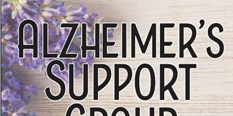 Dementia Support Group on ZOOM tickets