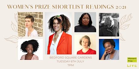 Women's Prize Shortlist Readings 2021, chaired by Bernardine Evaristo tickets