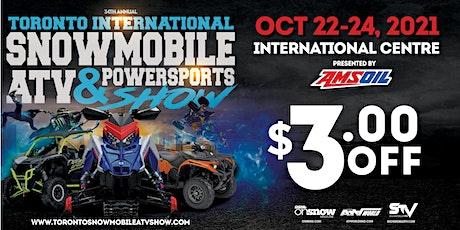 34th Annual Toronto International Snowmobile, ATV & Powersports Show 2021 tickets