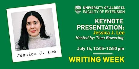 UAlberta Writing Weeks Keynote Address: Jessica J. Lee tickets