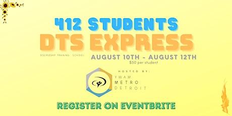 YWAM DTS Express tickets