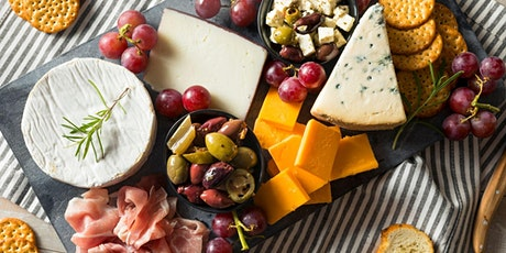 Live Virtual Wellness: Making the Perfect Charcuterie Board for Picnics tickets
