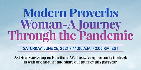 Modern Day Proverbs Woman - Journey Through the Pandemic tickets