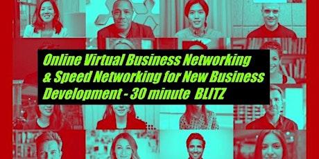 Online Virtual Business Networking BLITZ tickets