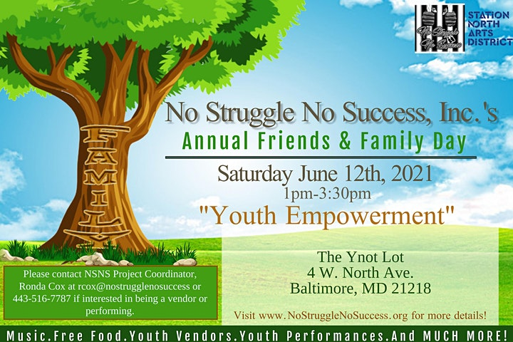 No Struggle No Success, Inc.'s Annual Friends and Family Day image