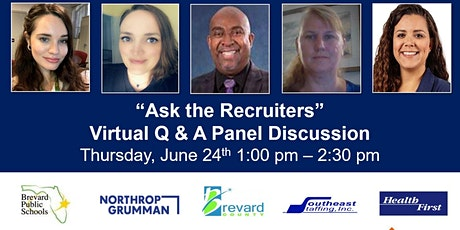 """""""Ask the Recruiters"""" - Q&A Panel Discussion tickets"""