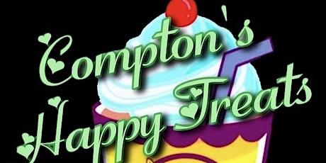 Comptons Happy Treats pop up shop tickets