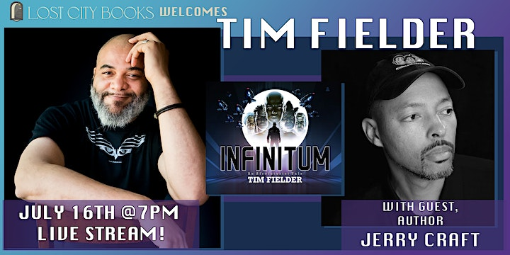 INFINITUM by Tim Fielder with guest Jerry Craft image