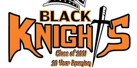 Charlottesville High Class of 01 reunion tickets