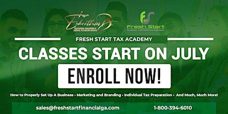 Fresh Start Tax Academy tickets