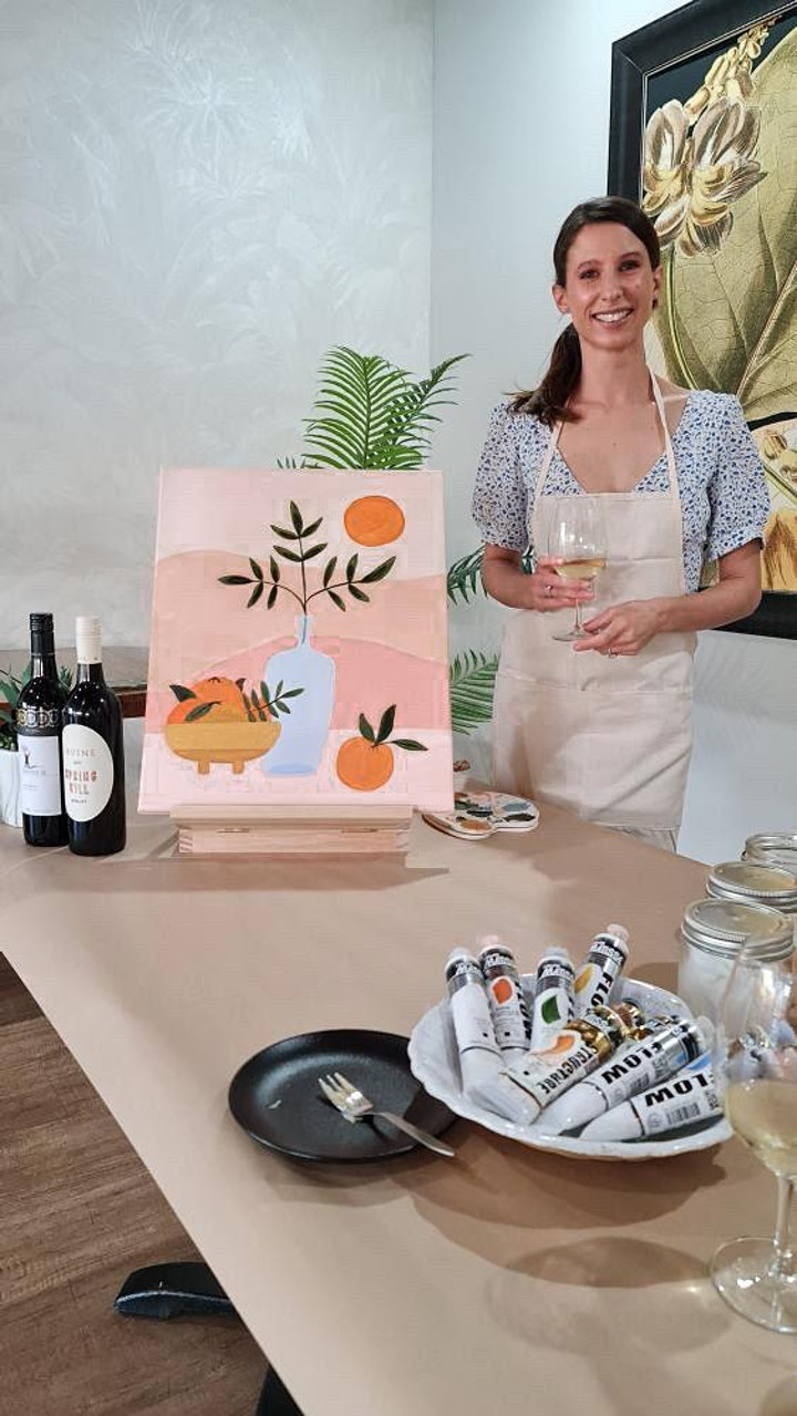 Paint and Sip Event image