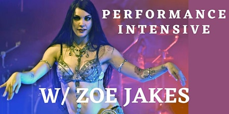 Performance Intensive with Zoe Jakes tickets