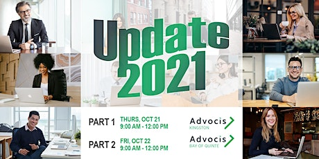 Advocis Kingston: Update 2021 - Open to the Future tickets