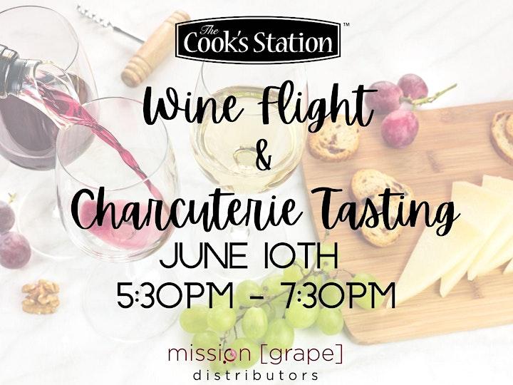 Wine Flight and Charcuterie Tasting image