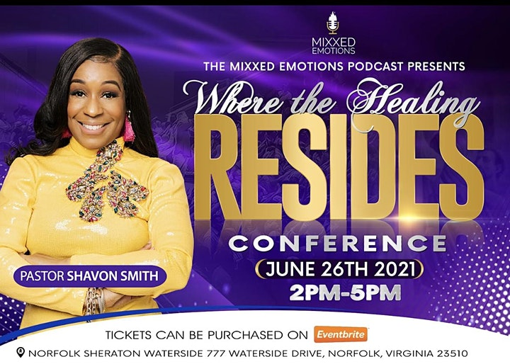 """The Mixxed Emotions Podcast presents """"Where The Healing Resides"""" Brunch. image"""