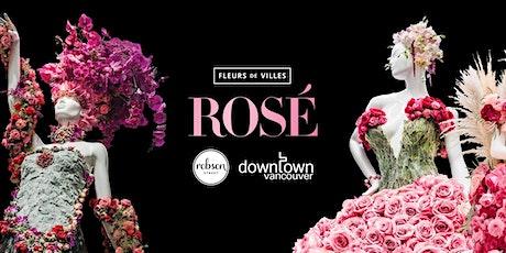 Fleurs de Villes ROSÉ Vancouver tickets