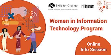 Women in Information Technology Program - Information Session tickets