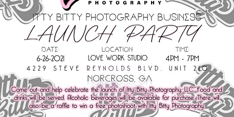 Itty Bitty Photography Launch Party tickets