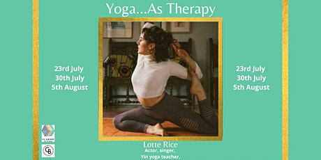Yoga...As Therapy tickets