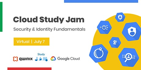 Cloud Study Jam: Security & Identity Fundamentals tickets