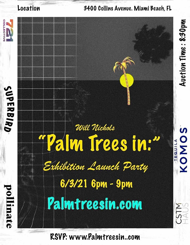 [FAENA BAZAAR] Palm Trees In & Unchartered Waters image