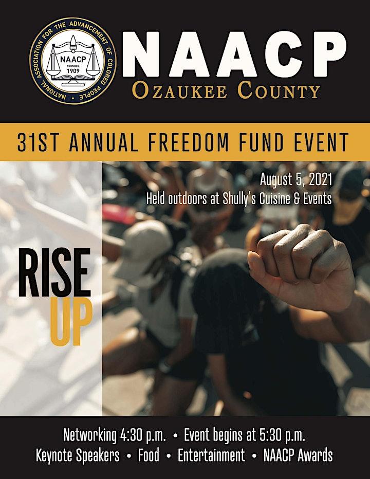 2021 NAACP Ozaukee County Freedom Fund Event image
