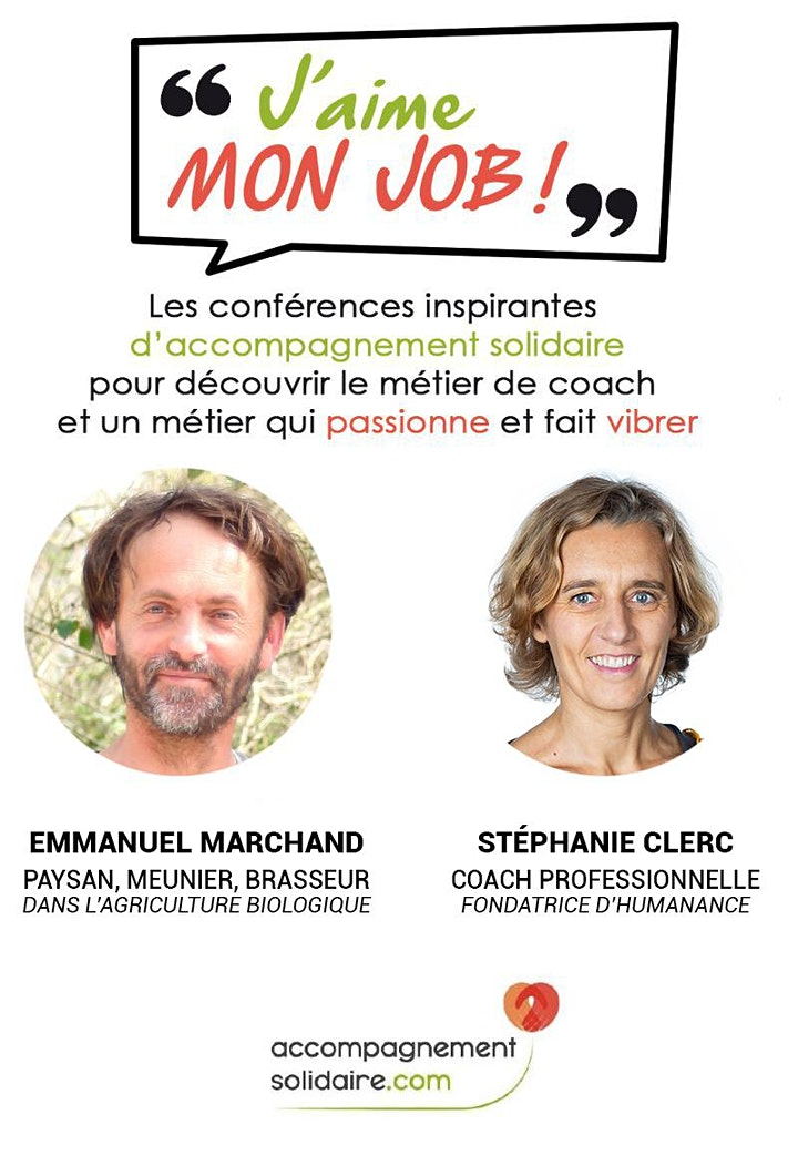 Image pour Conférence J'aime Mon Job !