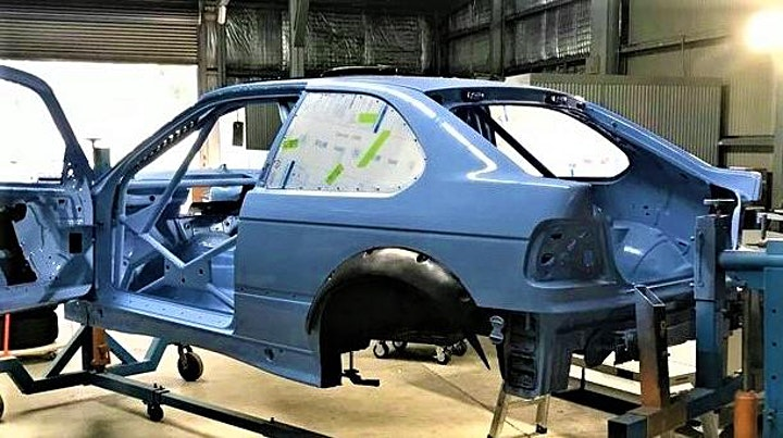Rally car build drop-in classes and joy ride. image